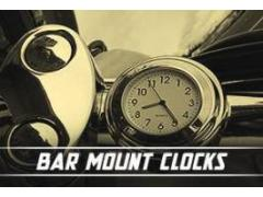 Bar Mount Clocks & Phone Holders