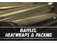 Baffles, Heatwraps & Packing