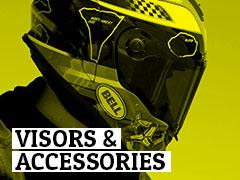 Helmet Visors & Accessories
