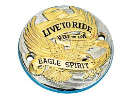 Zodiac Eagle Spirit Horizontal Point Cover Gold