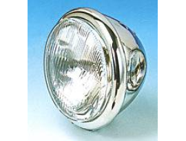Zodiac Chrome Bates Headlight