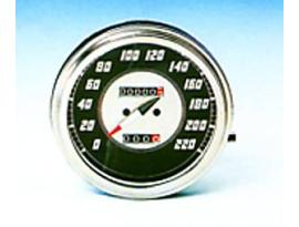 Zodiac Black Face Speedometer Front Wheel Drive