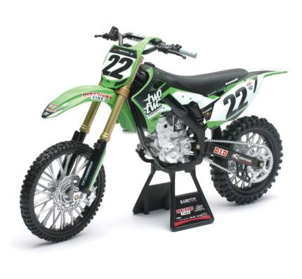 New Ray Model Bike -Kawasaki CHAD REED KXF 22