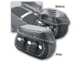 Pro-One Saddlebag Lid Supports Pair fits Stock Leather Saddlebags