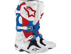 Alpinestars Tech 7 White Red Blue Boots 2017 - Adult