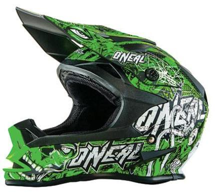 Oneal 2017 7 Series Evo Menace Green Helmet