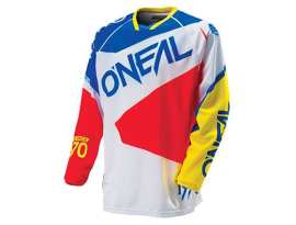 Oneal Hardwear Flow Jersey 2016- Blue/Red/Yellow