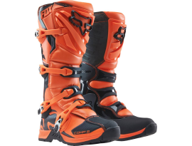 Fox 2019 Youth Comp 5 Orange Boots