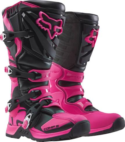 Fox 2019 Youth Comp 5 Black Pink Boots