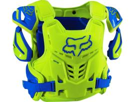 Fox Adult Raptor CE- Blue/Yellow
