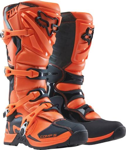 Fox 2017 Comp 5 Orange Boots