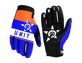 Unit 2020 Scope Blue and Red Gloves