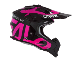 Oneal Youth 2020 2 Series Slick Black and Pink Helmet