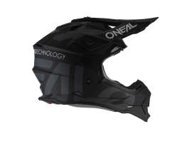 Oneal 2021 2 Series Slick Black and Grey Helmet