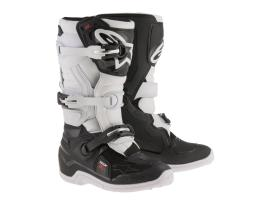 Alpinestars Tech 7S Black White Boots 2017 - Youth