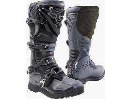 Fox 2018 Comp 5 Black Grey Boots