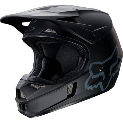Fox V1 Matte Black Helmet 2017 - Youth