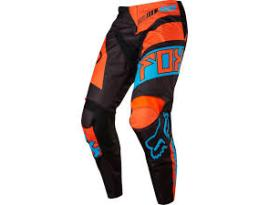 2017 Fox 180 Falcon Black Orange Pants