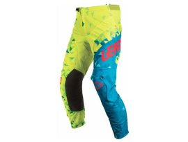 Leatt 2018 GPX 2.5 Junior Lime Teal Pants