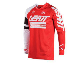Leatt 2018 GPX 4.5 X-Flow Red White Jersey