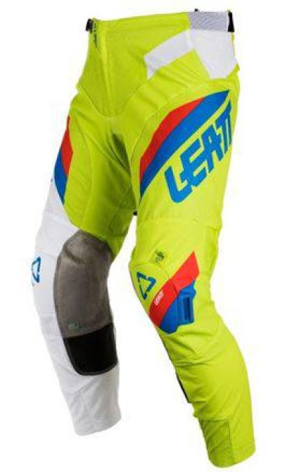Leatt 2018 GPX 5.5 IKS Lime White Pants