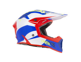 Oneal 2019 10 Series Icon Blue/Red Helmet