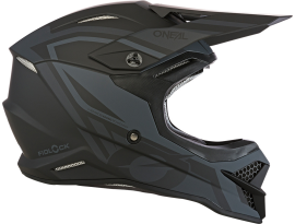 Oneal 2020 3 Series Hybrid Fidlock Black and Grey Helmet