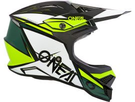 Oneal 2020 3 Series Stardust Black White and Yellow Helmet