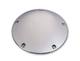 Pro-One Derby Cover Millennium Smooth Chrome  99-2015 Big Twin Motors