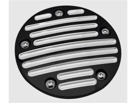 Pro-One Point Cover 5-Hole Millennium B-Milled Black Twin Cam 99-2015