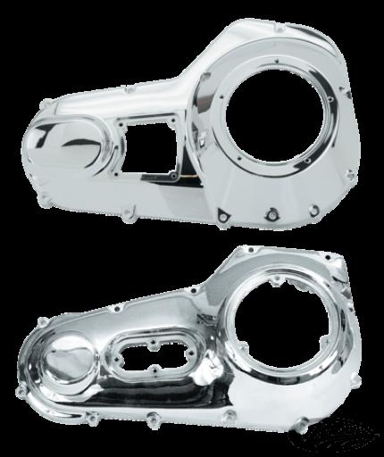 Zodiac Chrome Outer Primary Covers 1989-2006