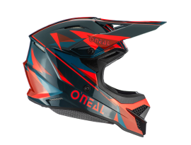 Oneal 2020 3 Series Triz Red and Dark Green Helmet