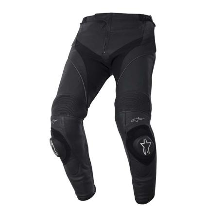 Alpinestars Missile Men's Leather Black Pants