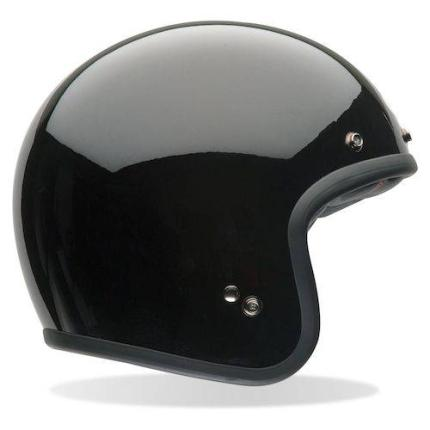 Bell Custom 500 Plain Black Helmet