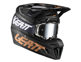 Leatt 2021 9.5 V21.1 Carbon Helmet & Goggles Kit