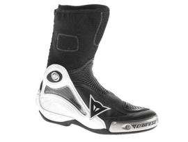 Dainese Axial Pro In Black/White Boots