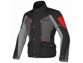 Dainese Tenporale D-Dry Black Grey Red Jacket