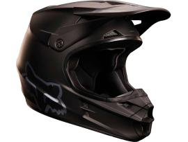 Fox V1 Matte Black Helmet 2015 - Youth