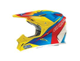Oneal 2014 9 Series Race Yellow/Red/Blue Helmet