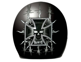 Rjays Sturgis Barbed Wire Helmet