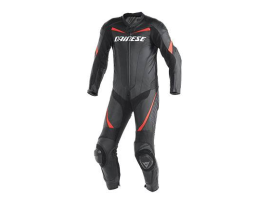 Dainese Racing P.Estiva One Piece Black Red Suit