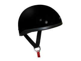 THH T-70 Shorty Plain Gloss Black Helmet