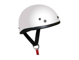 THH T-70 Shorty Plain White Helmet