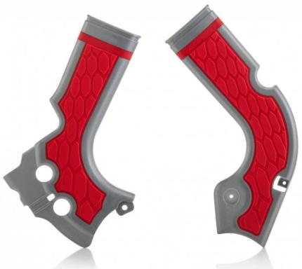 Acerbis Plastics X-Grip Frameguards for Honda
