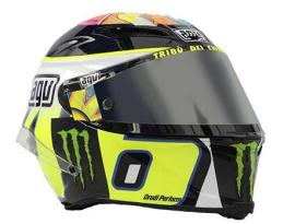 AGV Corsa Wish Limited Edition Yellow White Black
