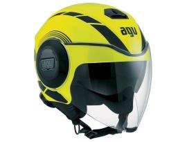 AGV Fluid Equilizer Yellow/Black Helmet