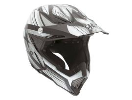 AGV AX-8 Flagsters Black Gunmetal Helmet