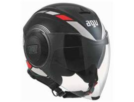 AGV Fluid Equilizer Black/Grey Helmet