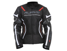 Rjays Ladies Air-Tech Black and White Jacket