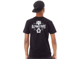 Alpinestars 2018 Andres Black T-Shirt